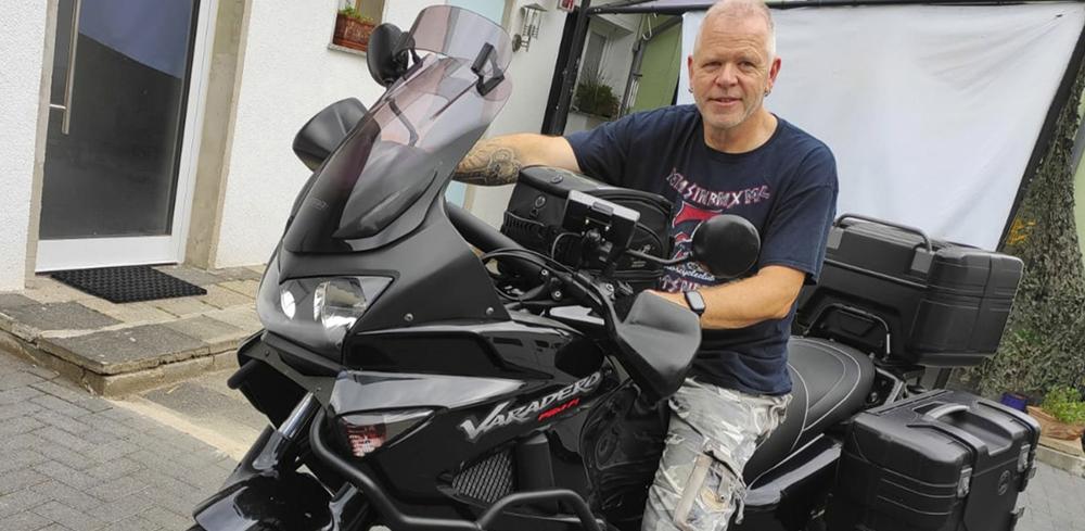 Touren mit dem Motorrad